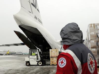 Das Deutsche Rote Kreuz bringt Hilfsgüter in die Erdbeben-Region. Es geht von einem längerfristigen Einsatz in Haiti aus.