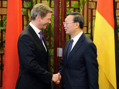Westerwelle in China