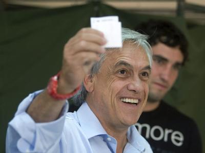 Der konservative Politiker Sebastián Piñera hat in Chile einen historischen Sieg erzielt.