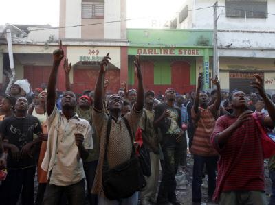 Verzweiflung in Haiti