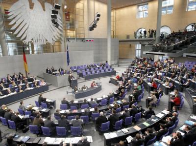 Jährlicher Schlagabtausch: Haushaltsdebatte im Bundestag in Berlin.