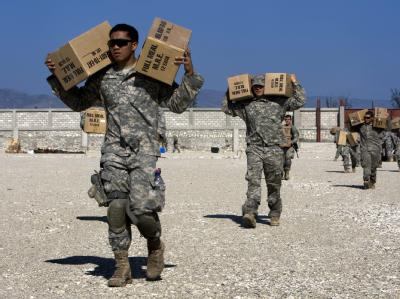 US-Soldaten auf Haiti