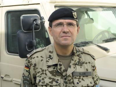 Der damalige Kommandeur des Bundeswehr-Lagers in Kundus, Oberst Georg Klein (Archivfoto).