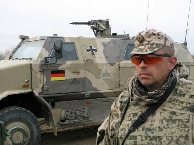 Hauptbootsmann Holger hält seinen Einsatz in Afghanistan «selbstverständlich» für sinnvoll.