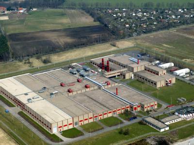 Luftbild der Urananreicherungsanlage in Gronau. (Archivbild)