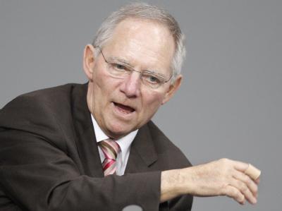 Finanzminister Schäuble: Der Finanzsektor soll «angemessen an den Kosten der aktuellen Krise und auch künftiger Finanzkrisen» beteiligt werden.