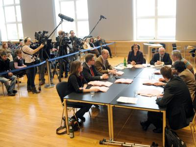 Stimmen-Nachz�hlung in Kiel