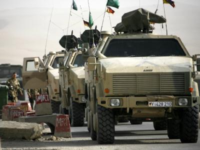 Gepanzerte Bundeswehrfahrzeuge