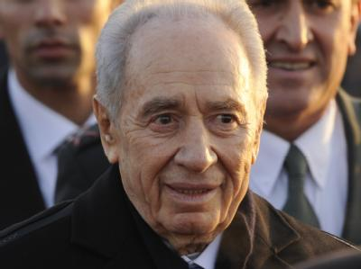 Israels Präsident Peres in Berlin