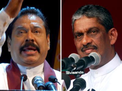 Präsidentschaftswahlen in Sri Lanka