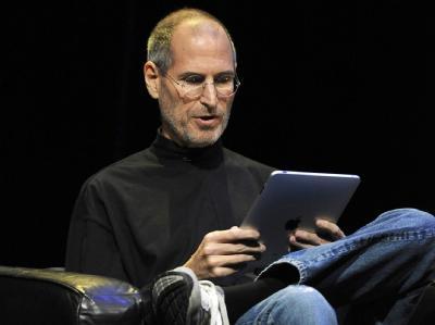 Steve Jobs und sein iPad