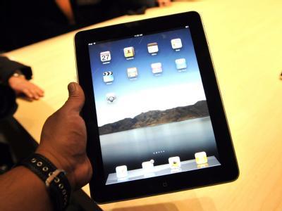 Das «iPad» sieht aus wie ein Riesen-iPhone.