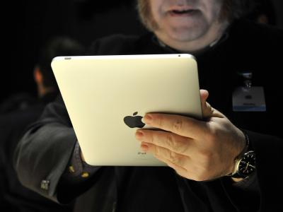 Auch in Apple-Weiß: Das «iPad».