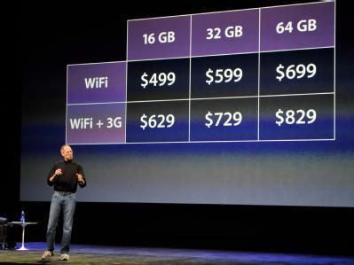 Das iPad wird in den USA ab 499 Dollar angeboten.