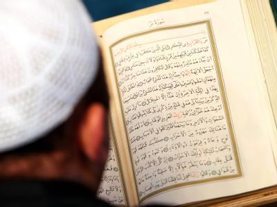 Ein Imam in der Sehitlik-Moschee in Berlin.