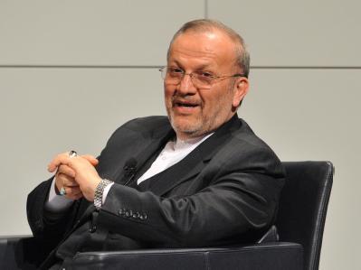 Irans Außenminister Manuchehr Mottaki auf der 46. Münchner Sicherheitskonferenz in München.