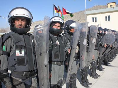 Afghanische Polizei
