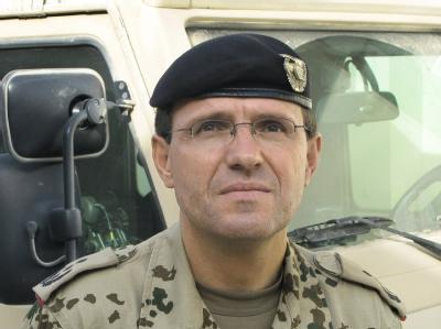 Oberst Georg Klein ordnete im vergangenen September den Luftangriff auf die gekaperten Tanklaster an.