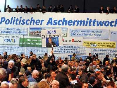 Politischer Aschermittwoch - CSU