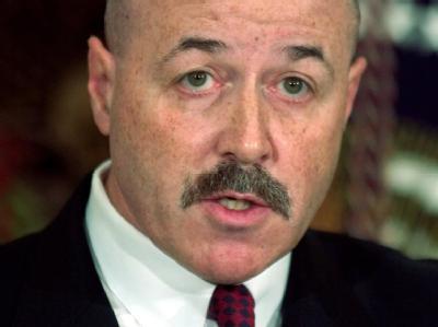 New Yorks früherer Polizeichef Bernard Kerik (Archivfoto vom 03.12.2004).