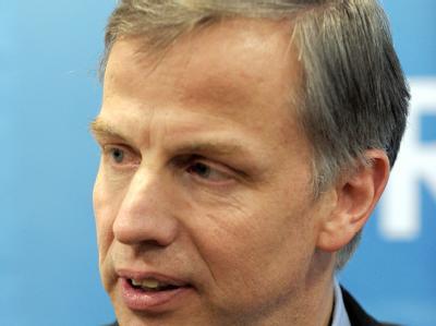 Der neue Generalsekretär der NRW-CDU Andreas Krautscheid bei einer Pressekonferenz in Düsseldorf.
