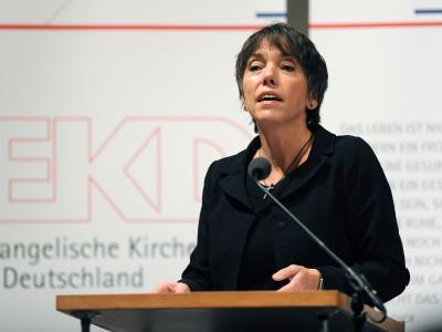 Die Landesbischöfin und Vorsitzende des Rates der EKD, Margot Käßmann.