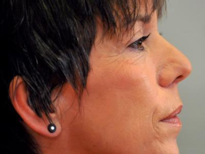 Die Ratsvorsitzende der Evangelischen Kirche in Deutschland (EKD), Margot Käßmann erklärt vor der Presse ihren Rücktritt.