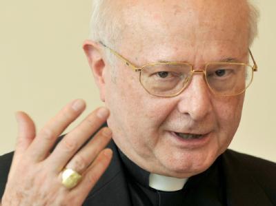 Der Vorsitzende der Deutschen Bischofskonferenz, der Freiburger Erzbischof Robert Zollitsch.