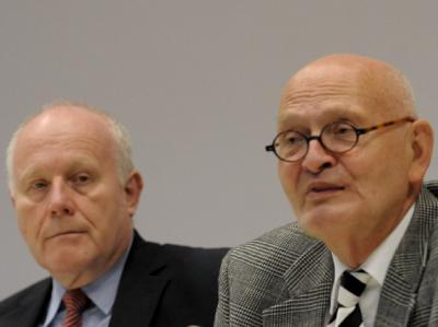 Georg Milbradt und Herbert Schmalstieg