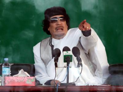 Der libysche Revolutionsführer Muammar al-Gaddafi hat die Schweiz im Visier.