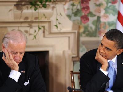 Biden und Obama