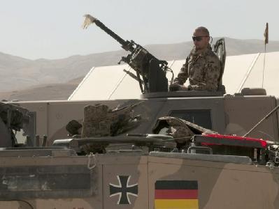 Bundeswehrsoldaten in Feisabad