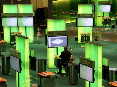 CeBIT 2010 - Aufbau