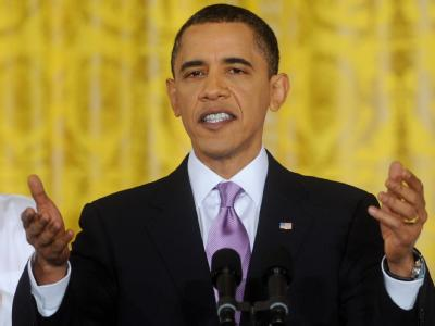 US-Präsident Barack Obama: «Die amerikanische Bevölkerung und die US-Wirtschaft können einfach nicht länger warten.»