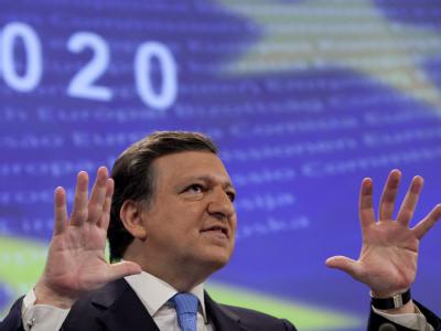EU-Kommissionspräsident Barroso versichert Solidarität für Griechenland.