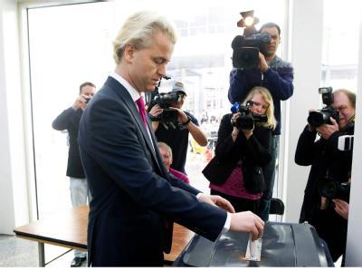 Stimmabgabe Wilders