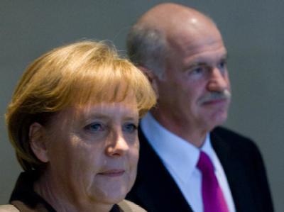 Der griechische Ministerpräsident Papandreou traf Bundeskanzlerin Merkel in Berlin zu Gesprächen.
