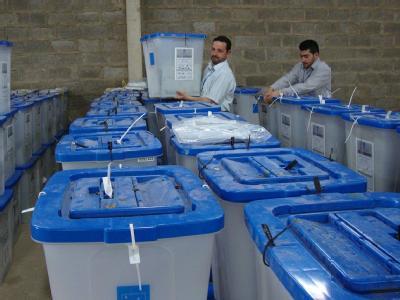 Wahlvorbereitungen in Nadschaf