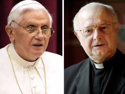 Papst Benedikt XVI. empfängt den Vorsitzenden der Deutschen Bischofskonferenz, Robert Zollitsch.