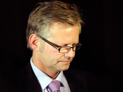 Ralf Hillenberg nach einer Sitzung der SPD, in der es um seine politische Zukunft ging.