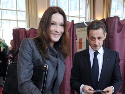 Sarkozy und Frau