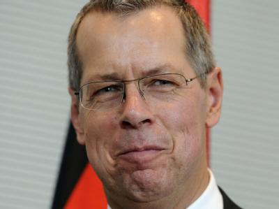 Der Wehrbeauftragte des Bundestags: Reinhold Robbe (SPD)