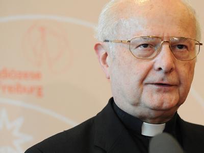 Der Vorsitzende der katholischen deutschen Bischofskonferenz, Robert Zollitsch.