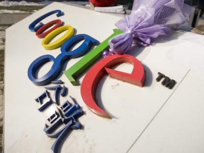Google legt sich mit der Regierung in Peking an.