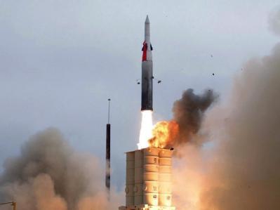 Eine Boden-Luft-Rakete in Kalifornien (Archivfoto). Russland und die USA haben sich auf einen neuen atomaren Abrüstungsvertrag geeinigt.