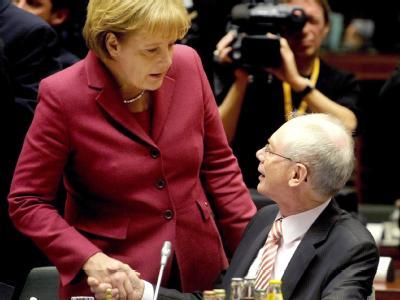 Merkel bei EU-Gipfel