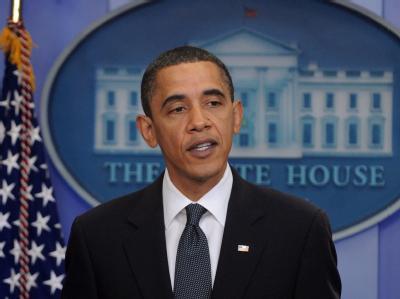 US-Präsident Obama gibt die Einigung mit Russland über das START-Abrüstungsabkommen bekannt.