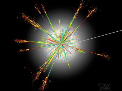 Kollision von Atomkernen