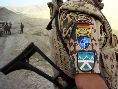 Soldat des deutschen ISAF-Kontingents