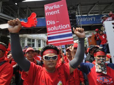 Demonstration in Bangkok
